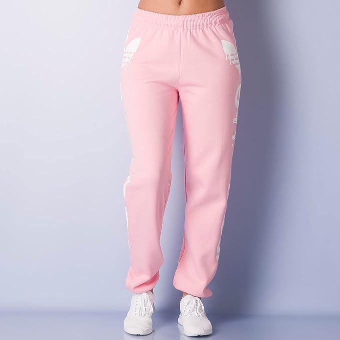adidas - Pantalón Deportivo - para Hombre Rosa Rosa L: Amazon.es: Ropa y accesorios