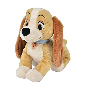 Disney Peluche Animal Friends Lady Dal Film Lilly y El Vagabundo 37 cm