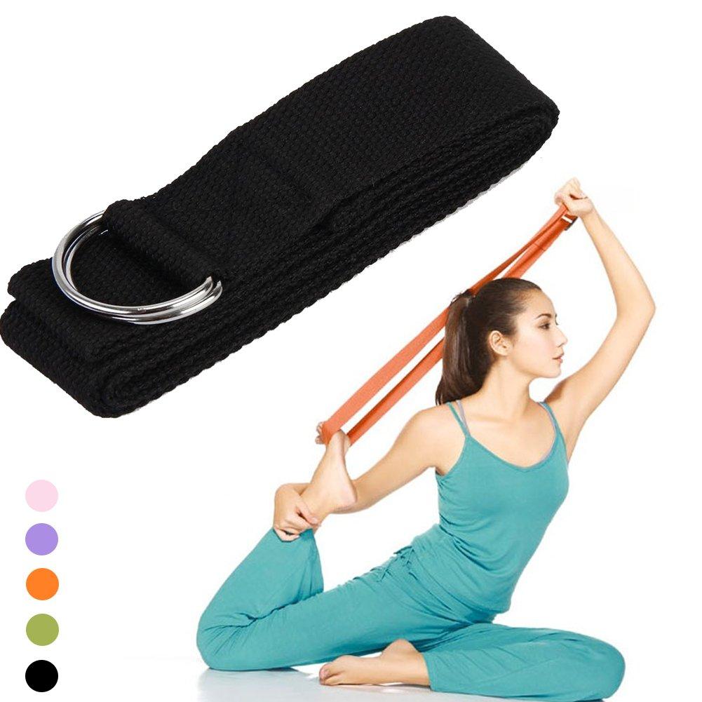 Multi-Colors columpio Yoga Alargar cinturones de Yoga ...