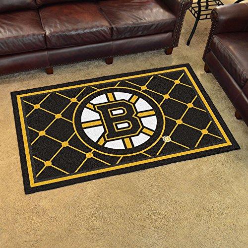 (Fanmats NHL - Boston Bruins 4x6 Rug)