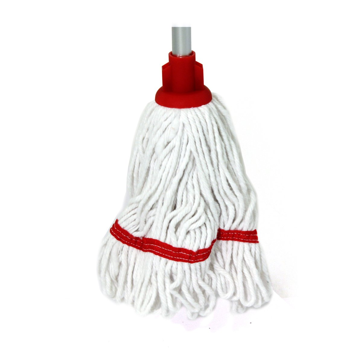 Bentley Industrial HR/BS.35/B Mini Blended Socket Cotton Mop with Cap and Banding, Blue Charles Bentley & Son Ltd