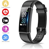 Arbily Fitness Activity Tracker, Heart Rate Monitor with Color Screen Waterproof Smart Bracelet, Sports/Steps Counter/Sleep Monitor for Android and IOS