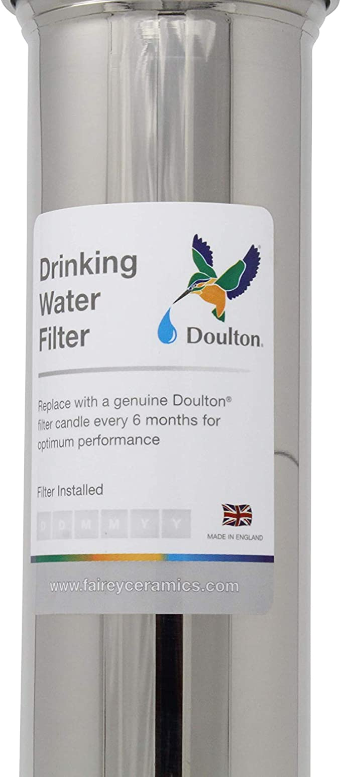 Doulton W9320007 - Filtro purificador de agua, acero inoxidable ...