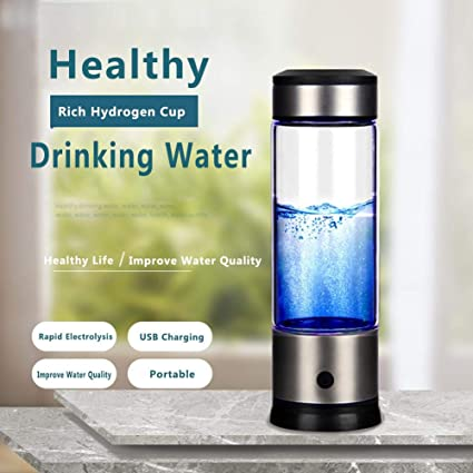 f2854284fe AITOCO Hydrogen-rich Water Bottle for Lonizing Hydrogen Water - Portable  Anti Aging Antioxidant Glass