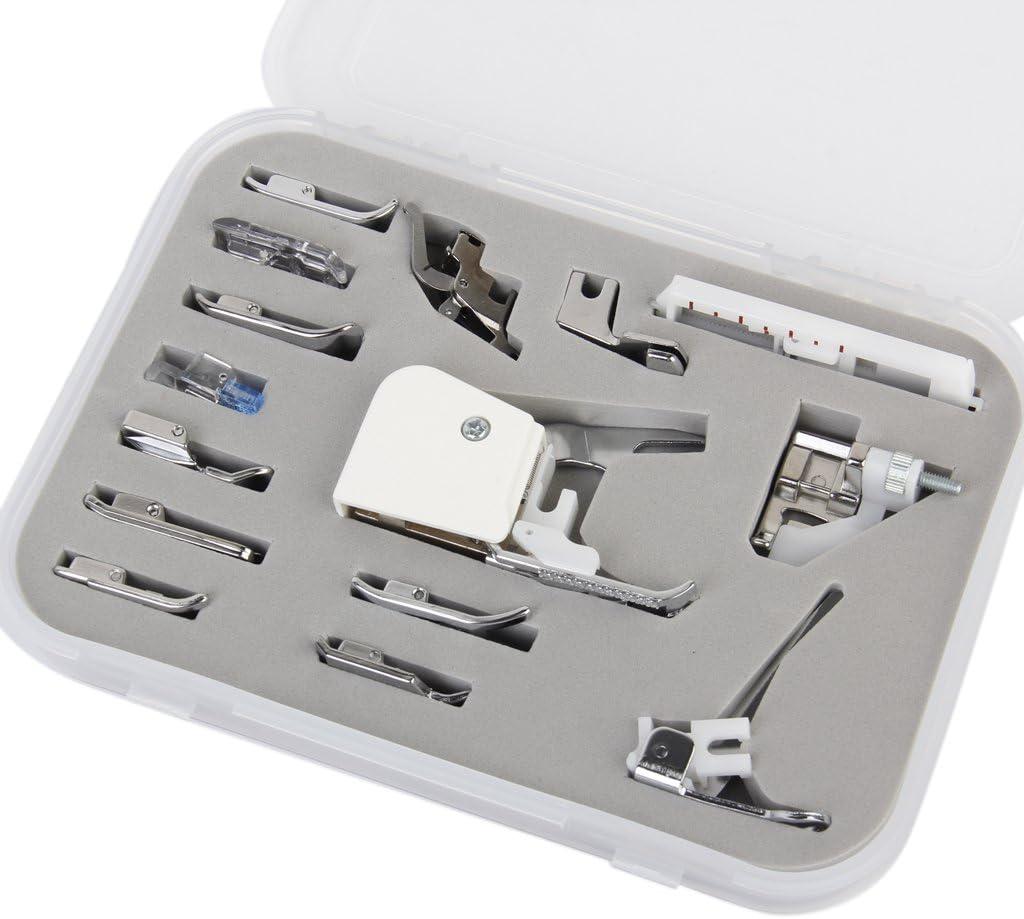 Un Set con 15 Piezas Prensatelas Accesorios para Máquina de coser ...