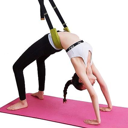 MFB Correa de Yoga para Estirar la Pierna Camilla de la ...