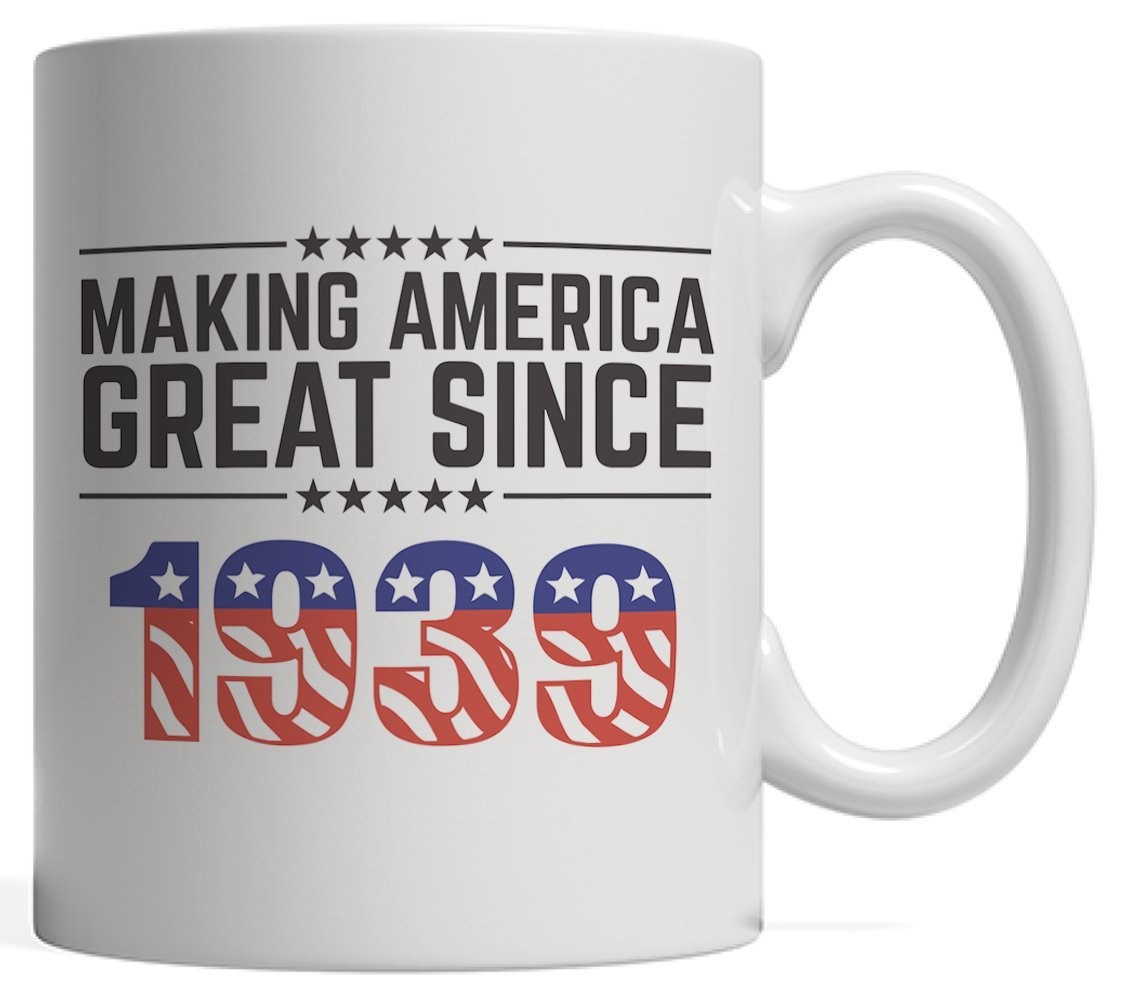 Making America Great Since 1939 Mug - USA Patriotic Anniversary 79th Birthday Gift Idea For Seventy Nine Years Old American Patriot Who Make This Country Greatness Every Year!