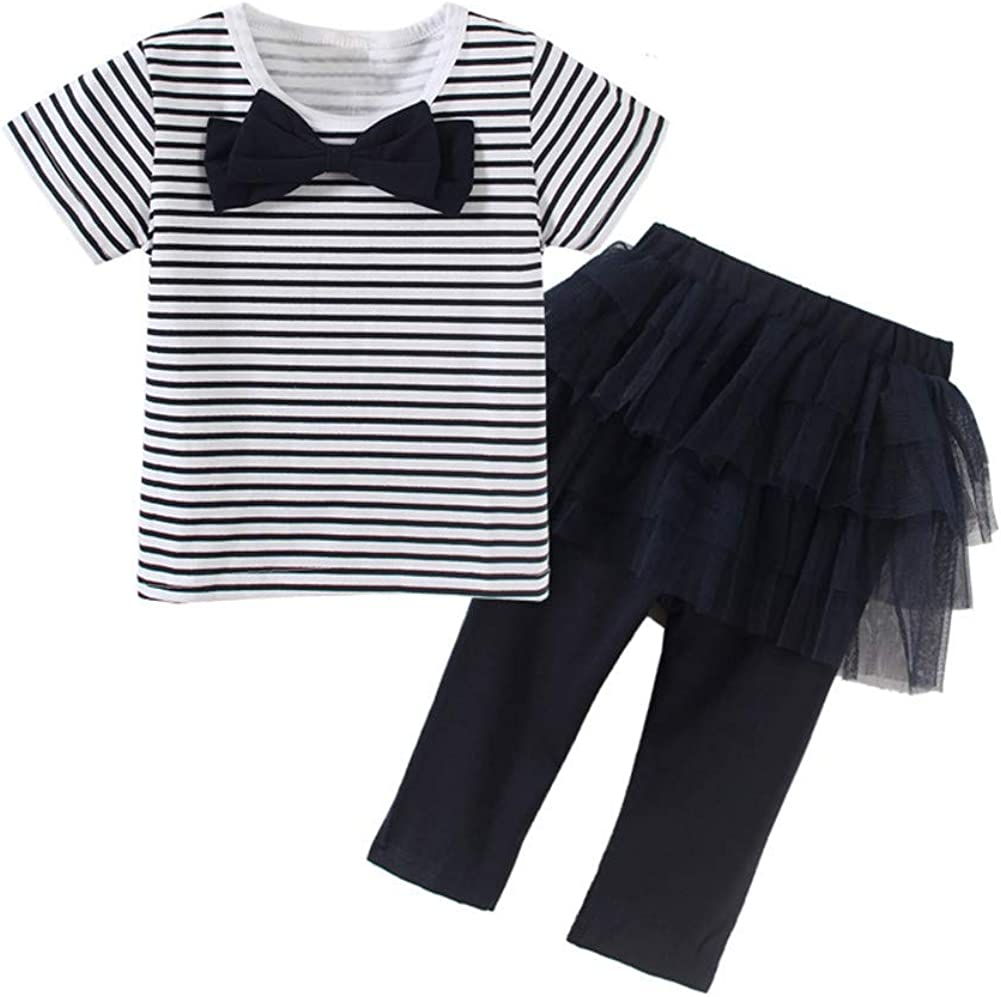 Mud Kingdom Baby Girl Outfits Cute Layered Camisole and Shorts