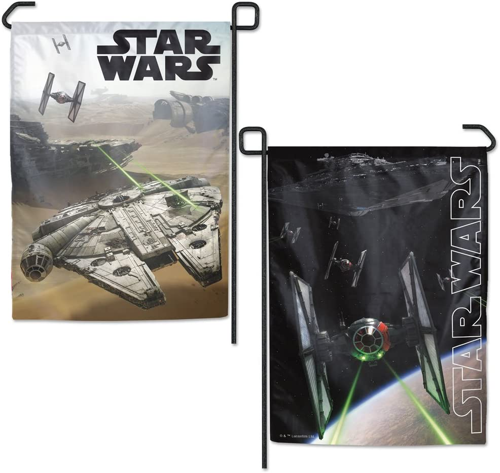 "WinCraft Star Wars Star Wars Star Wars New Trilogy Generic Ep 7 9 12.5"" X 18"" Garden Flags 2 Sided, Multicolor"
