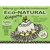 Broody Chick Eco-Natural Diapers, Toddler, 28 Count