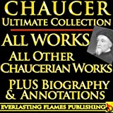 Front cover for the book Chaucer's Major Poetry by Geoffrey Chaucer