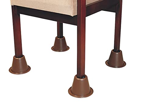 Patterson Medical - Set de 4 tacos elevadores de silla, apilables (9 cm)