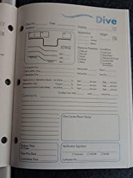 Padi diver 39 s log book dive log sports outdoors - Dive log book ...