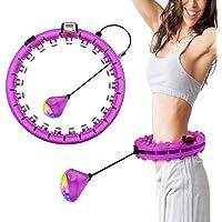 YYCX SmartHulaHoop HoelaHoop Fitness Gewichtsverlies, 360 graden draaibare massage, vrij instelbare grootte…