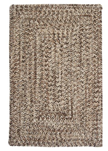 (Colonial Mills CC99R108X108R Corsica Area Rug, 9x9, Weathered Brown)