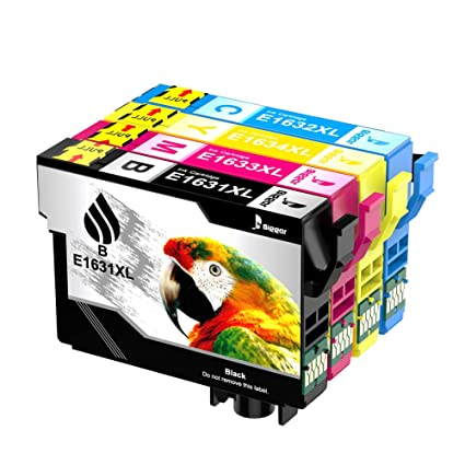 Bigger reemplazo de cartucho de tinta compatible para Epson 16XL para usar con WorkForce WF-2750 WF-2630 WF-2650 WF-2530 WF-2510 WF-2760 WF-2010 ...