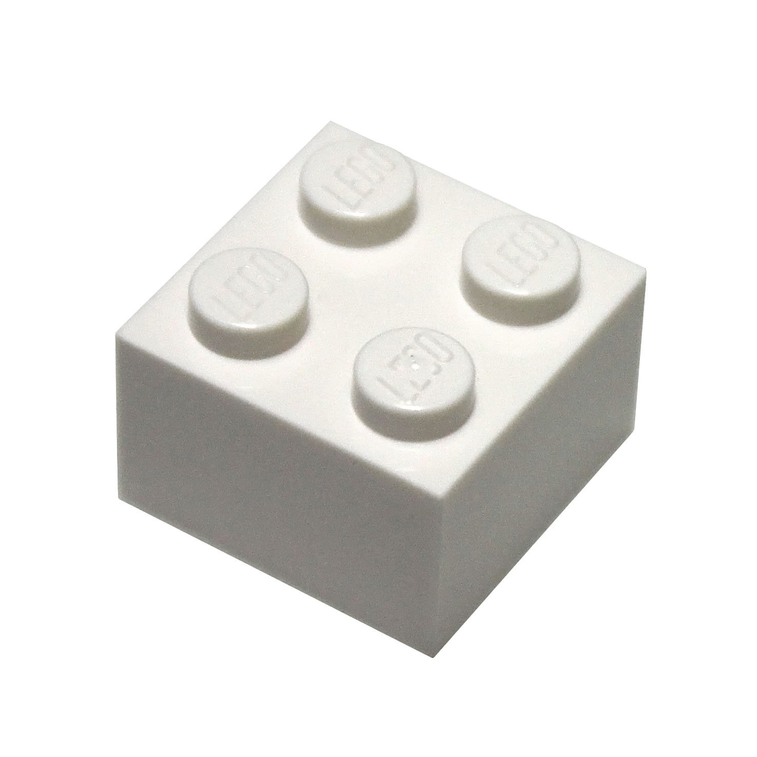 LEGO Parts and Pieces 2x2 White Brick x200