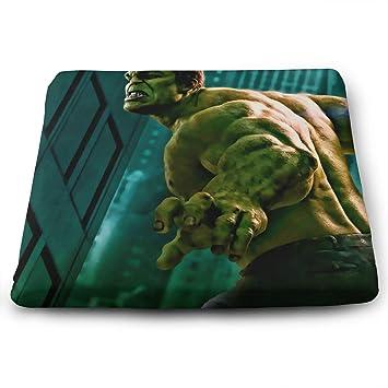 Amazon.com: Hulk Avengers - Cojín cuadrado de espuma ...