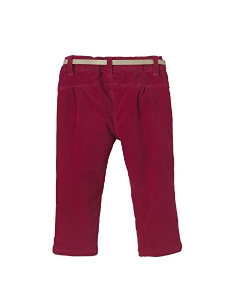 979664ed9afc Vertbaudet Pantalon bébé Fille en Velours doublé + Ceinture  Amazon.fr   Vêtements et accessoires