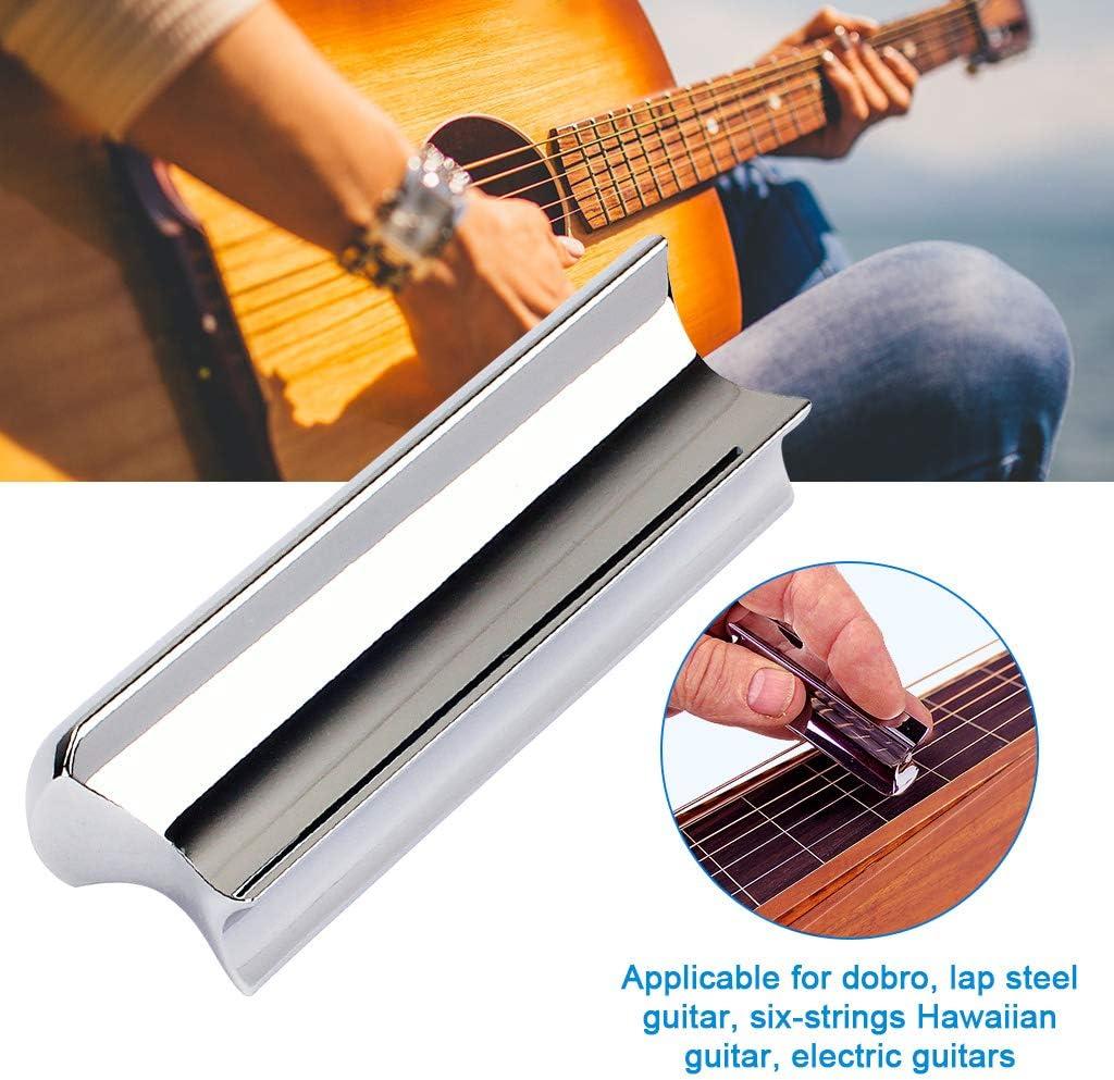 Jili Online Solid Stainless Steel Tone Bar Guitar Slide Tone Bar for Dobro electric guitars lap steel or Hawaiian steel guitar