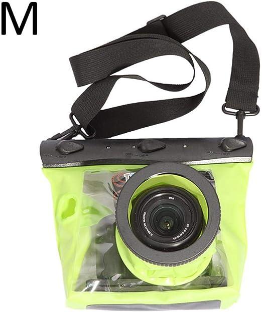 iBaste_S Estuche para cámara GQ-518L Funda Impermeable para Buceo ...