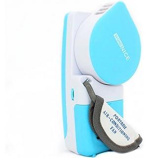 WoneNice Portable Small Fan U0026 Mini Air Conditioner, Runs On Batteries Or  USB