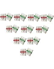 Lorsoul 20PCS / Set medidor de pH de ensayo, calibrado Medida pH de la solución