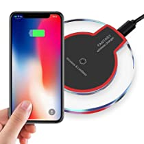 Wireless Charging, 5 W Fast Wireless Charger Stand, Qi-Certified,