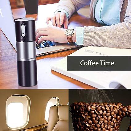 Amazon.com: Shinymoon Molinillo de café automático con ...