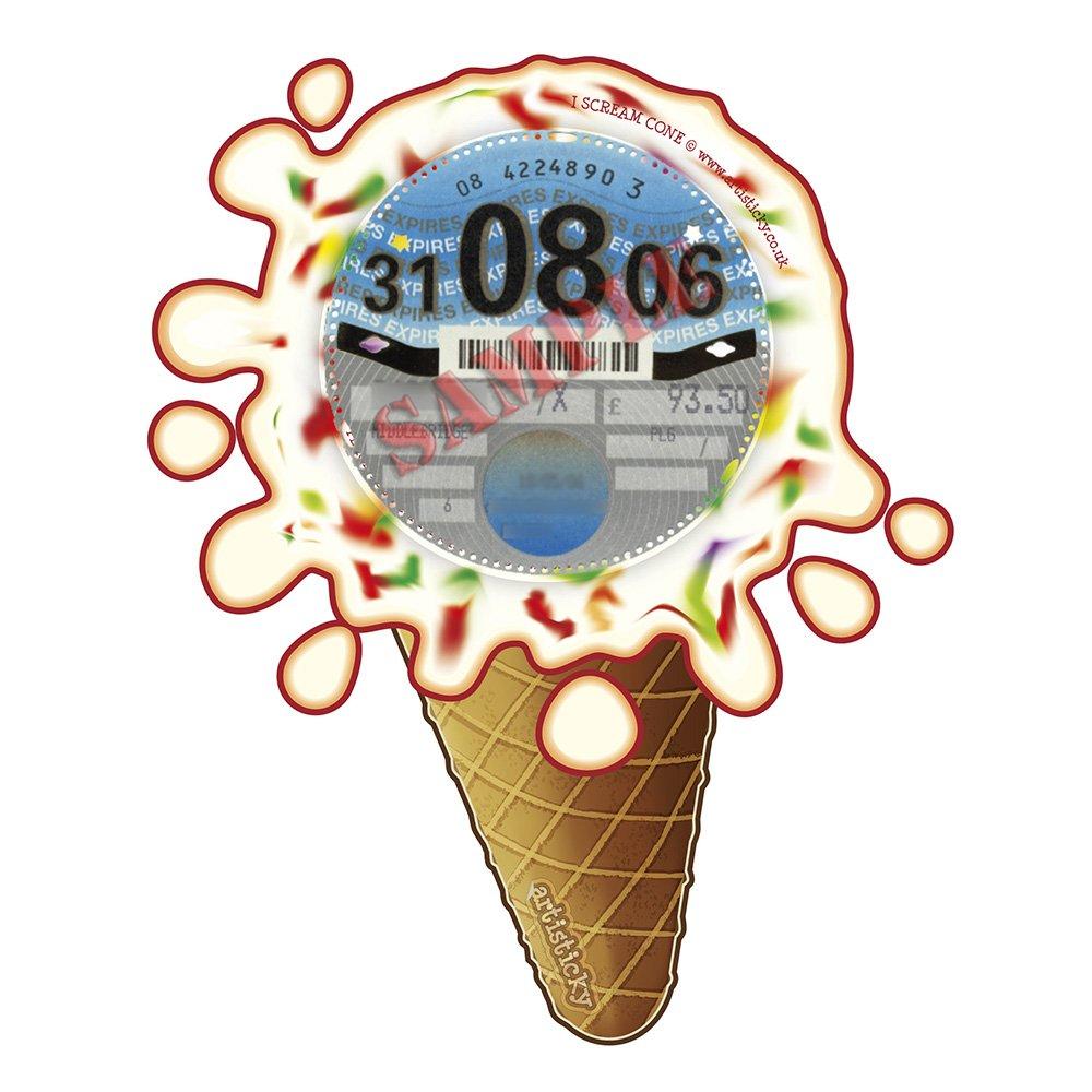 Tutti Frutti Ice Parking Permit Holder Skin - FREE UK POSTAGE Artisticky AS-0086