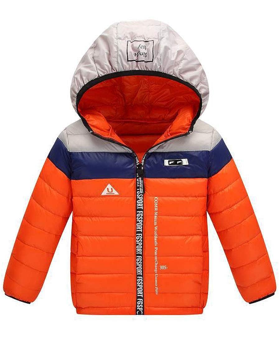 Capturelove Boys Girls Winter Fashion Hooded Puffer Down Coat Jacket