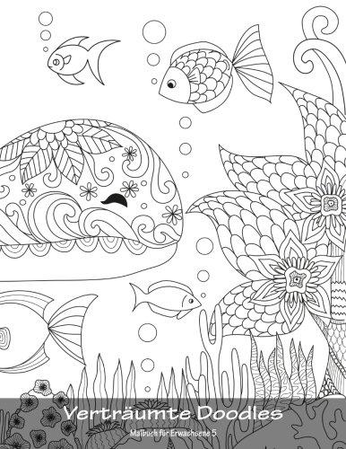 Buy Verträumte Doodles Malbuch Für Erwachsene 5: Volume 5 Book ...