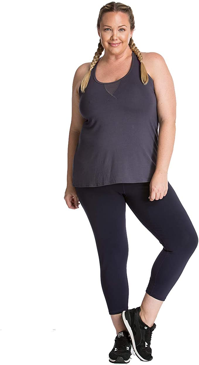 Plus Size Long Sleeve Shirt Made in USA Premium Activewear for The Curvy Girl