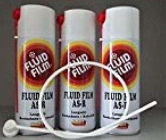 3x Fluid Film As R 400 Ml Sprühdose 1 Sonde 60cm Set Baumarkt