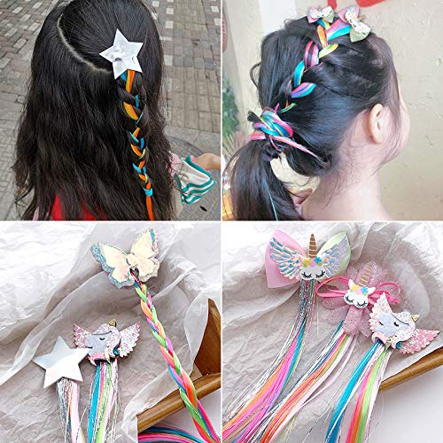 5 COLORFUL HAIR ACCESSORIES