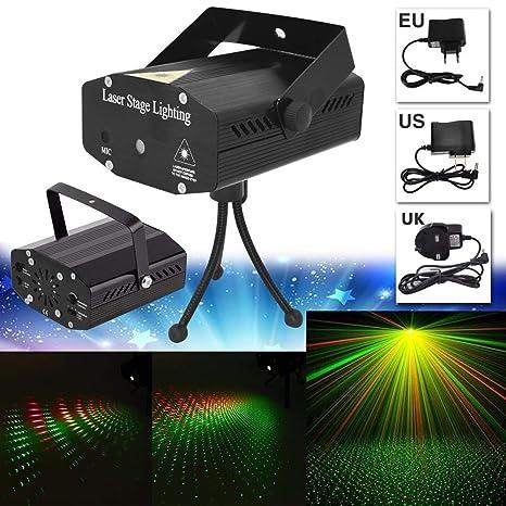 Amazon.com: HOKUGA: Iluminación LED de escenario R&G Mini ...
