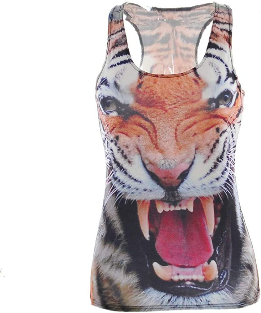 Otun Digital Tiger Print Ladies Vest