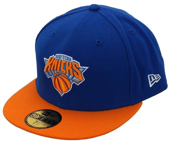 4031fabd035f8 New Era New York Knicks Basecap Nba Basic Royal / Orange - 7 5/8 ...