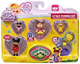 Cabbage Patch Kids Little Sprouts Friends Set 8 Pack Numbers 10 33 52 77 Series 1