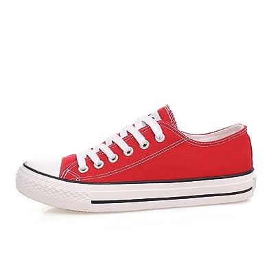 Geschnürte Schuhe/Bonbonfarbenen Turnschuhe/Feste Schuhe für Männer und Frauen/Casual koreanische Version der Schuhe/einzelne Schuhe/Student-Schuhe-C Fußlänge=26.3CM(10.4Inch) D1eQvjfg7e