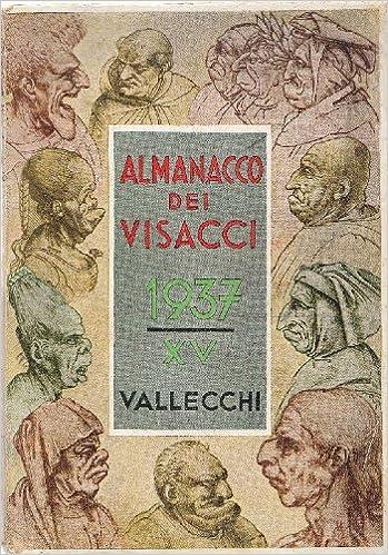 Calendario 1936.Almanacco Dei Visacci Calendario Letterario Artistico