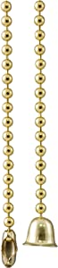 GE Pull-Chain Extension, 36-Inch, Brass Finish 54213