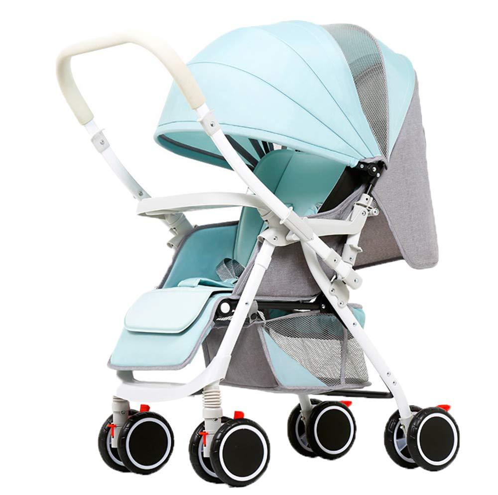 1833 5000 Passeggino Per Neonato E Bambino, All Terrain Leggero Passeggino Da Jogging, Grip Serie A Due Vie, Adatto Per 0-36 Mesi Uso Baby