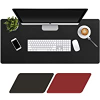 Levoit Desk Mat Large 90x40cm, Double-Sided Desk Pad, PU Leather Gaming Mouse Pad for PC Laptop, Waterproof Mouse…