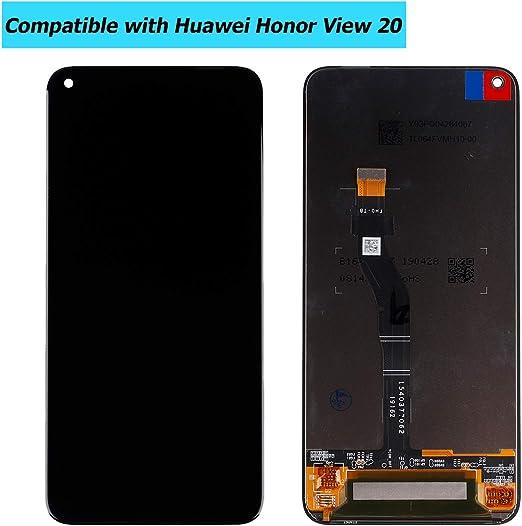 Upplus - Pantalla LCD de Repuesto Compatible con Honor View 20 (Honor V20) / Huawei Nova 4, Pantalla LCD táctil con Juego de Herramientas (Negro): Amazon.es: Electrónica