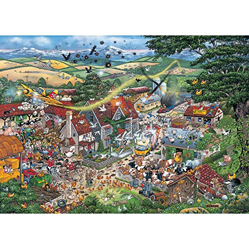 Gibsons I Love the Farmyard Jigsaw Puzzle (1000 Piece) Puzzle