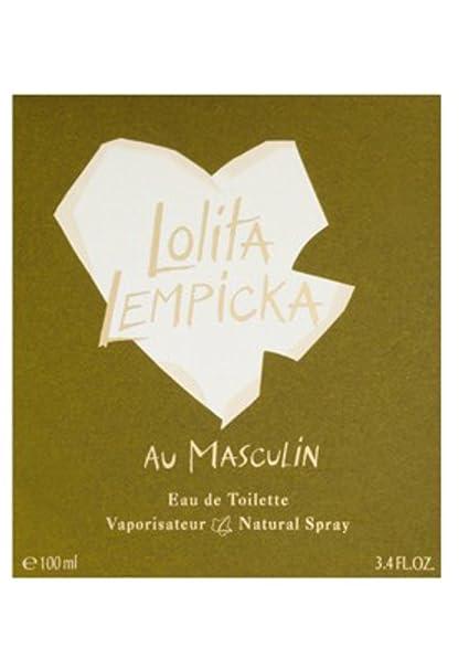 Lolita Lempicka Au masculin 100ml Eau de Toilette para hombre con vaporizador: Amazon.es: Belleza