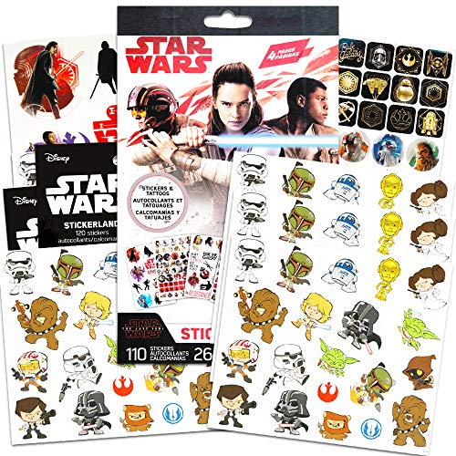 Star Wars Stickers Party Favors