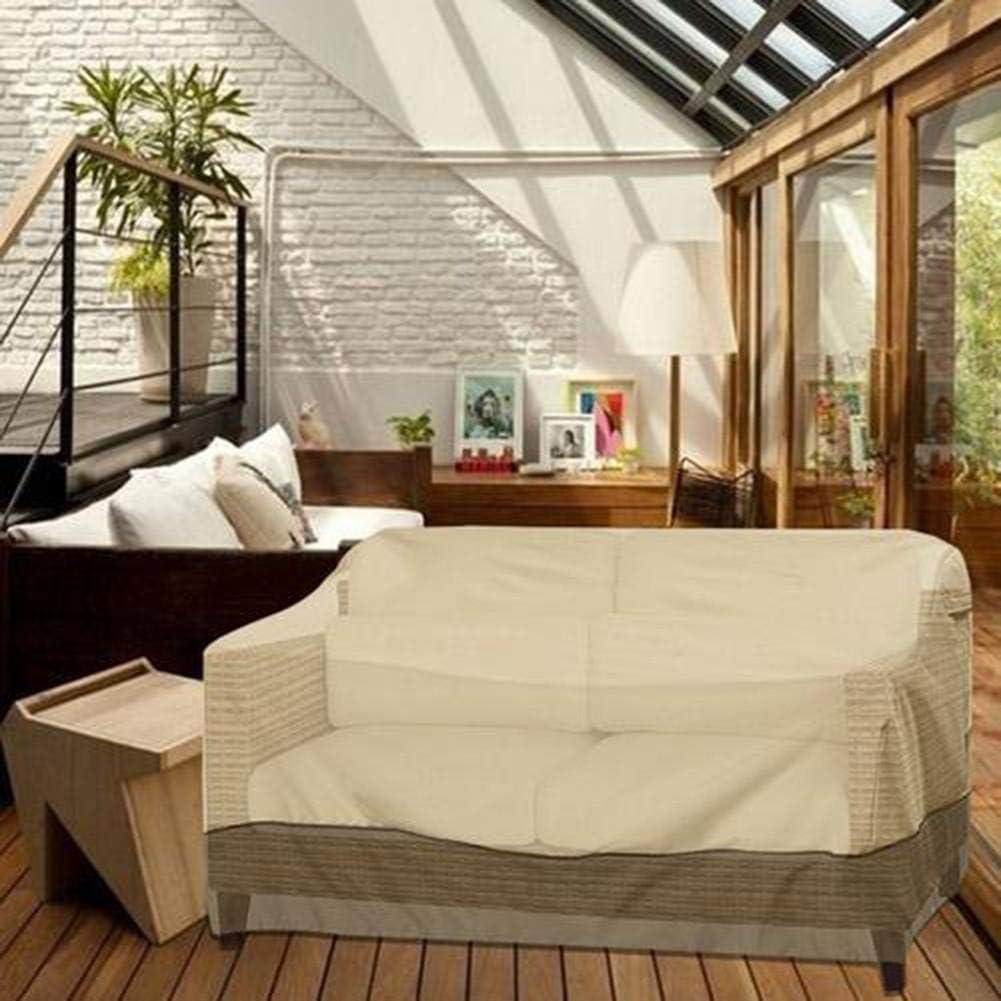 Impermeabile Anti-UV Coprire per Sedie da Giardino Telo di Copertura Sagomato per Poltrona A Seduta Profonda da Lounge