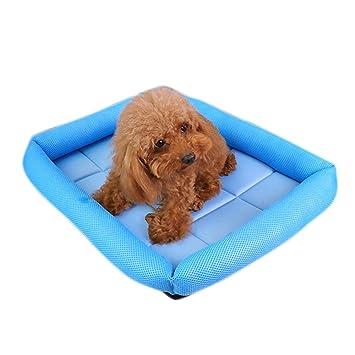 Aolvo - Almohadilla de refrigeración para perro, super transpirable, para cama de perro,